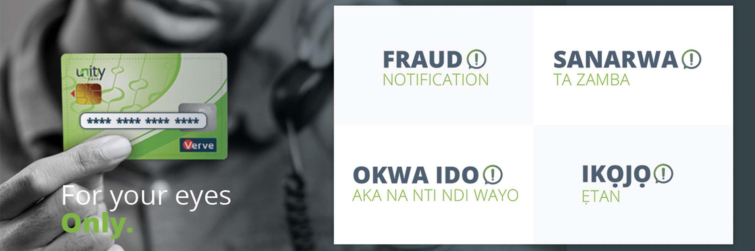 Fraud Notification
